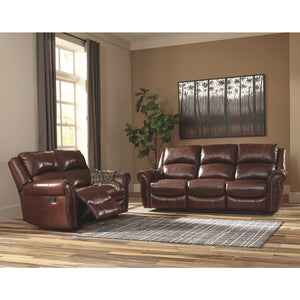 Bingen Leather Reclining Sofa