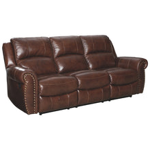 Load image into Gallery viewer, Bingen Leather Reclining Sofa
