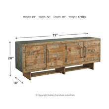 Load image into Gallery viewer, Mozanburg Extra Large TV Stand