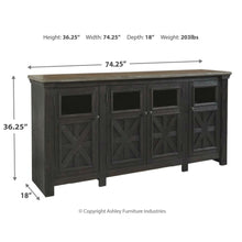 Load image into Gallery viewer, Tyler Creek Extra Large TV Stand