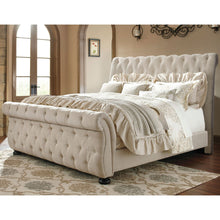 Load image into Gallery viewer, Willenberg Queen Upholstered Bed