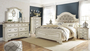 Realyn King Panel Bed 6Pc Set