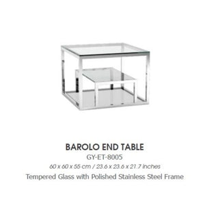 BAROLO END TABLE