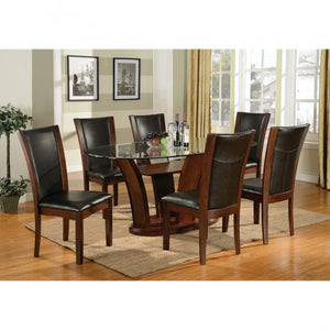 AMBROSA OVAL 7 PC. DINING SET.