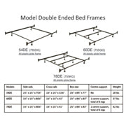 Double Ended Bed Frames