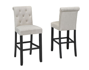 Soho Tufted 29' Bar Stool,