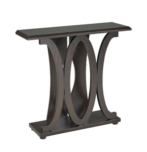 Console Table, Dark Cherry