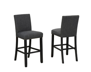 Indira 29' Bar Stool with Nail-Head Trim,