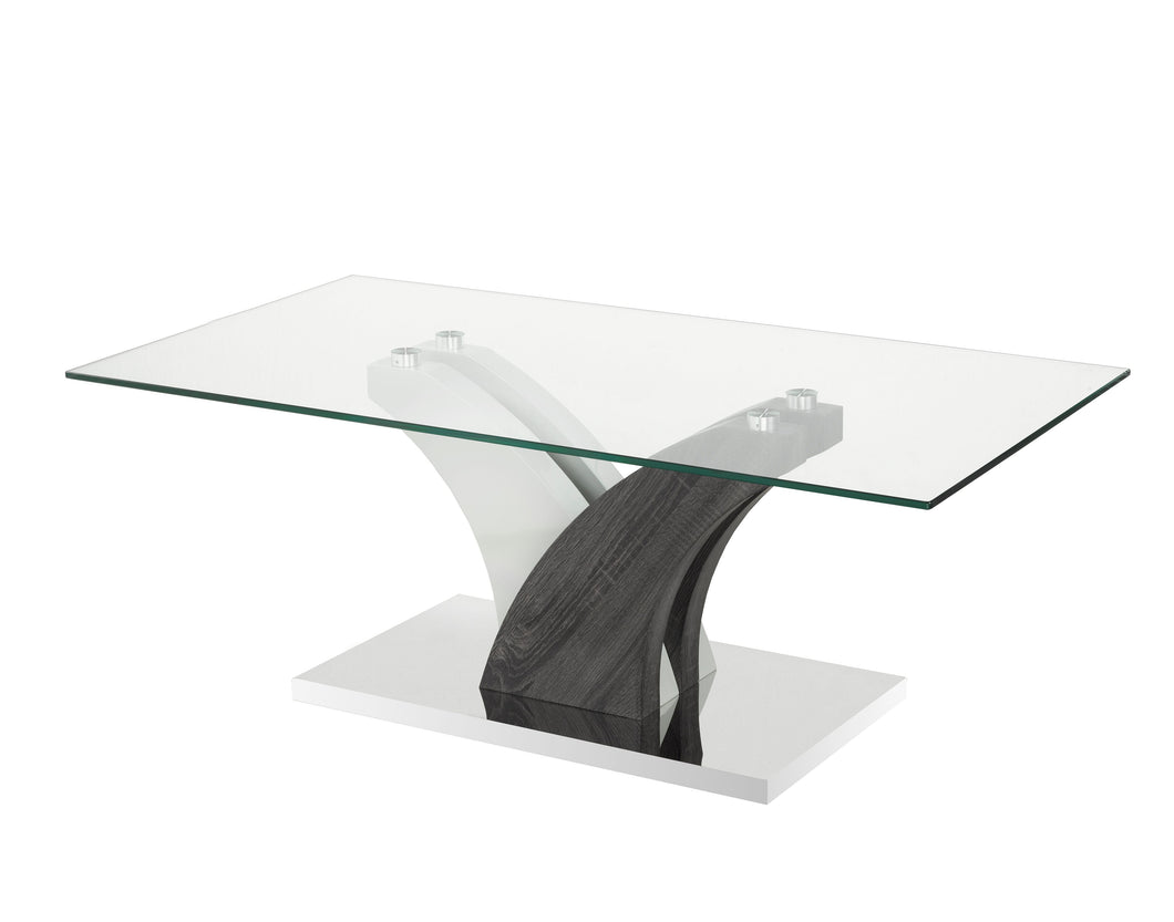 Jerome Coffee Table, Grey/White