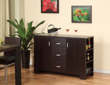 Load image into Gallery viewer, Ashton Buffet / Server with Storage, Dark Cherry