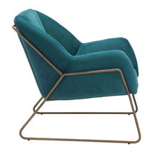 Load image into Gallery viewer, Stanza Arm Chair Green Velvet