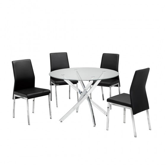 MEREDITHS 5PC. DINING SET.
