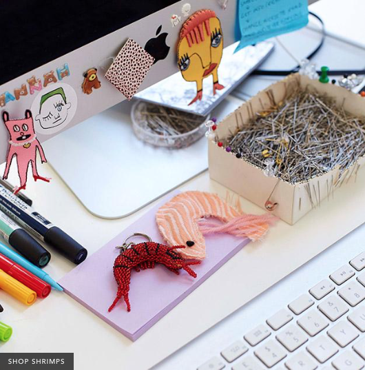 Shrimps desk