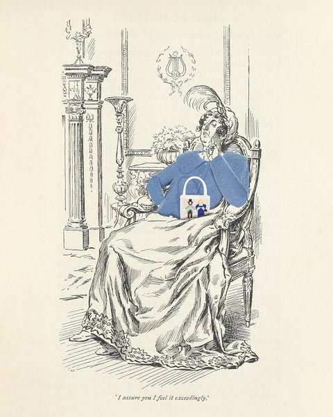 Illustration from Pride and Prejudice by Jane Austen