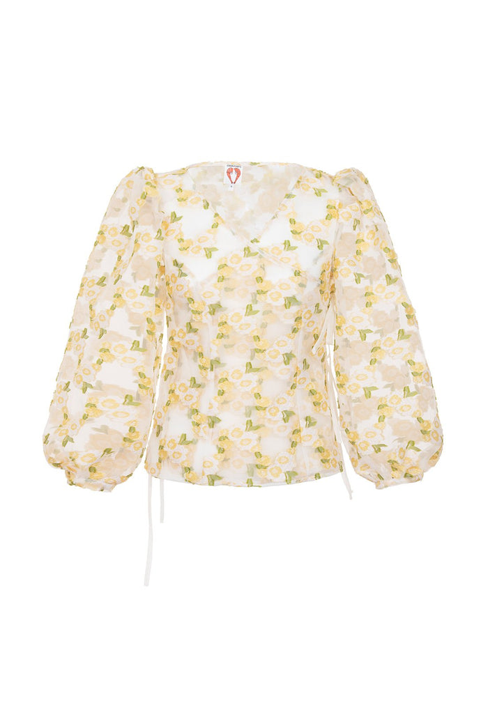 Cordelia Blouse - Yellow