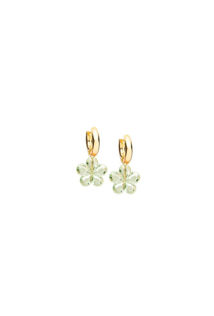 Caroline Earrings - Green
