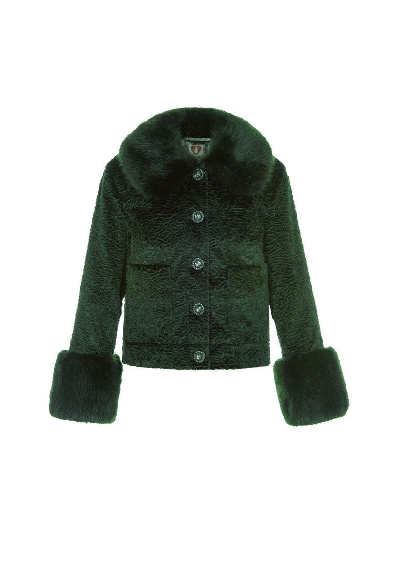 Clay Jacket - Forest Green