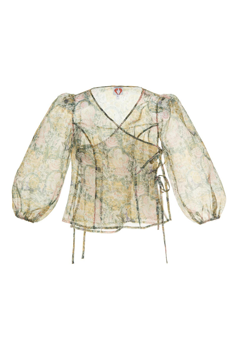 Cordelia Blouse - Old English