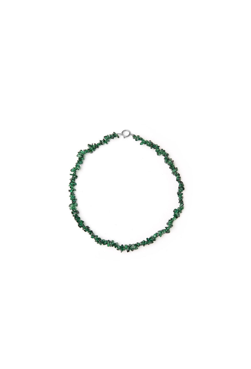 Dashwood Necklace - Forest Green
