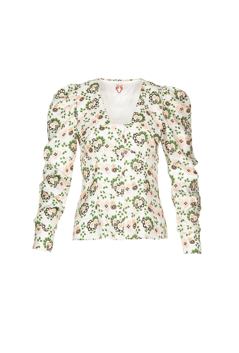Elliot Blouse - Hearts