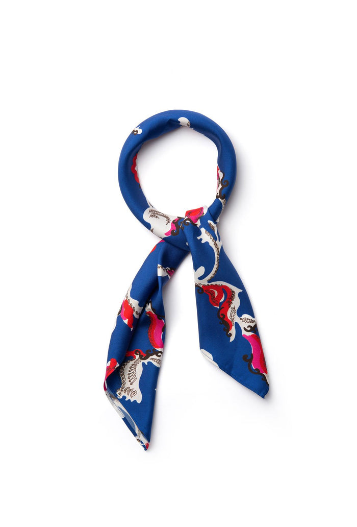 Florence Scarf - Royal Blue