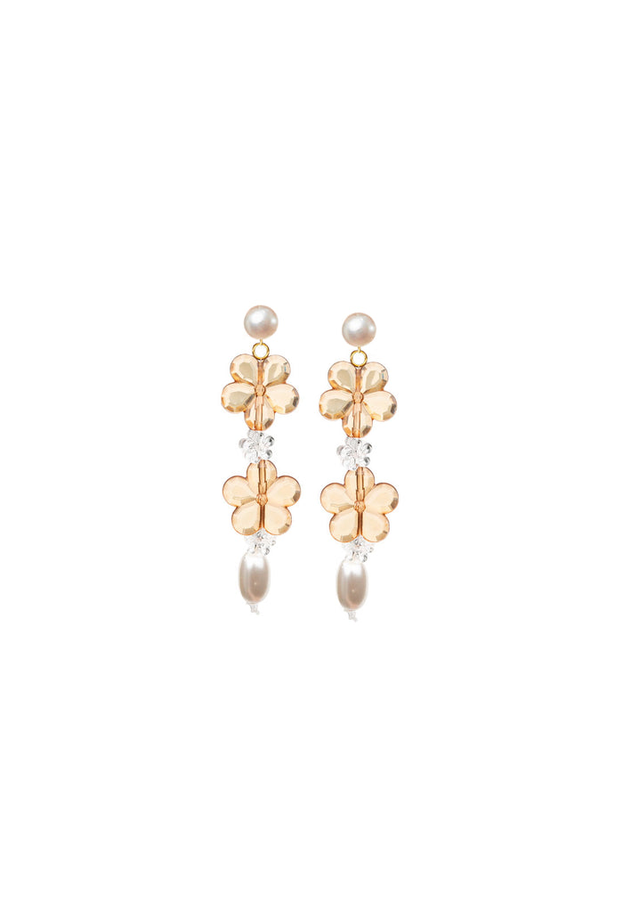 Harriet Earrings - Ochre