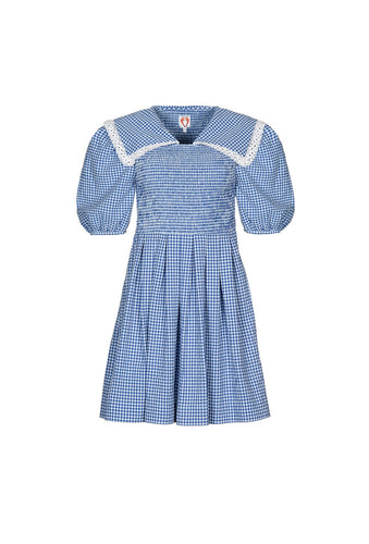 Johann Dress - Blue