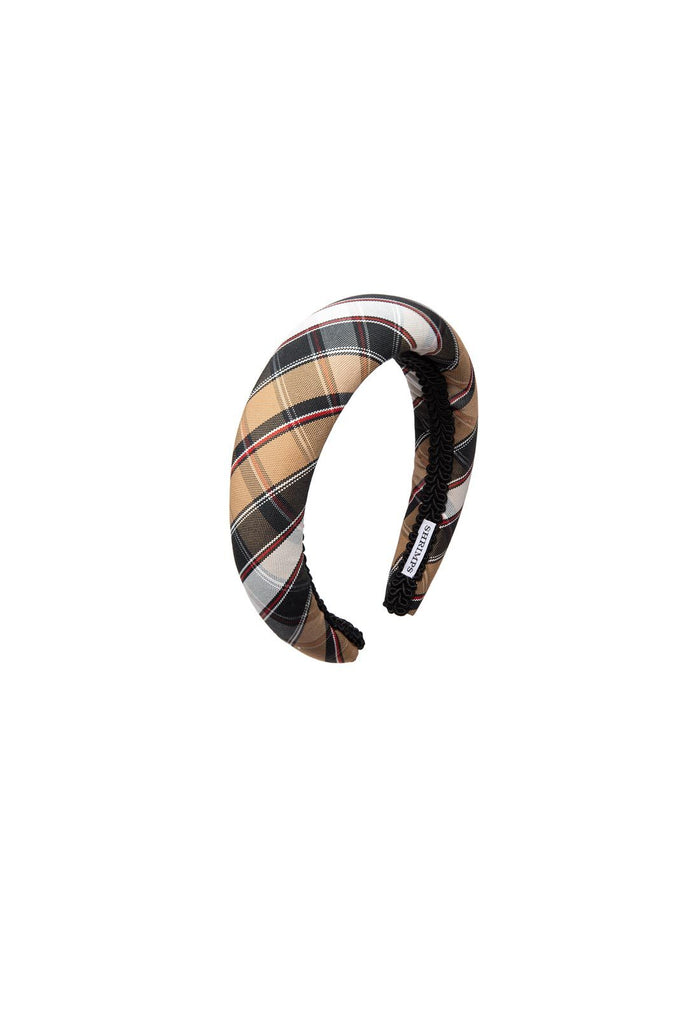 Melete Headband - Camel Check