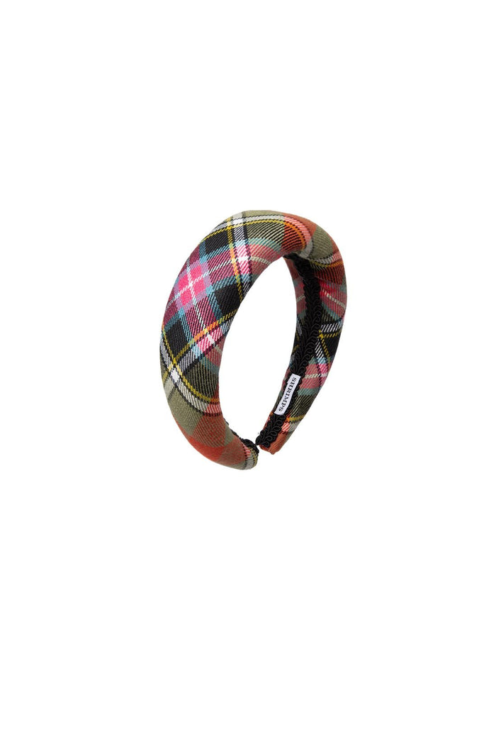Melete Headband - Green Check