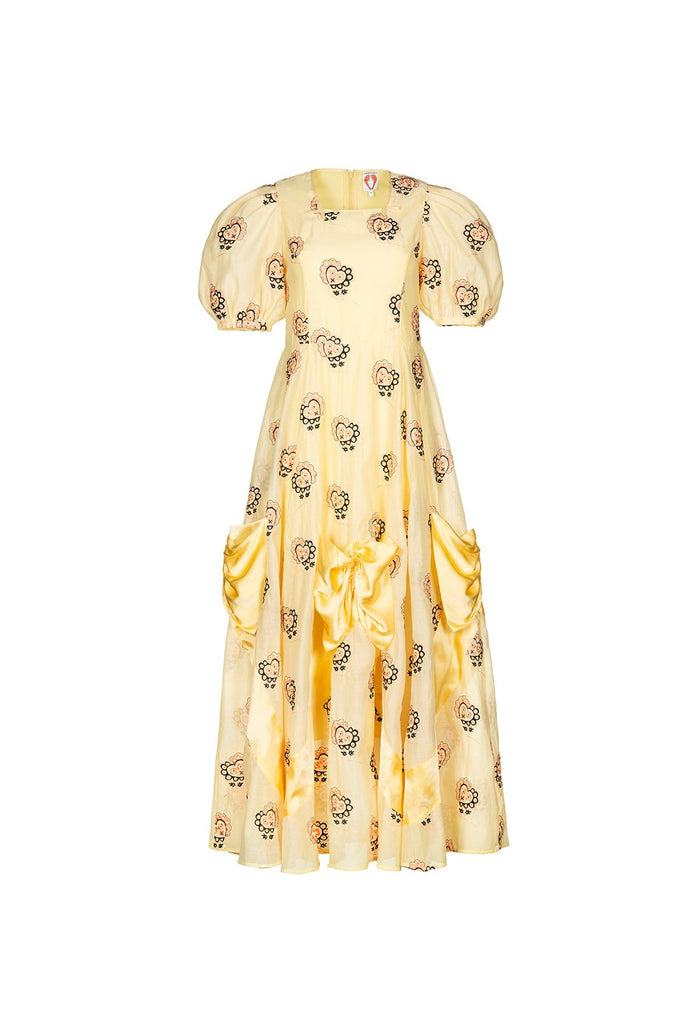 Mia Dress - Yellow