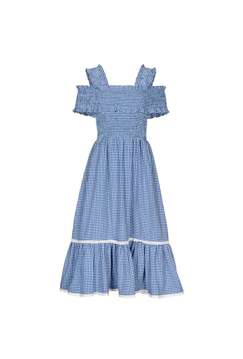 Rafferty Dress - Blue
