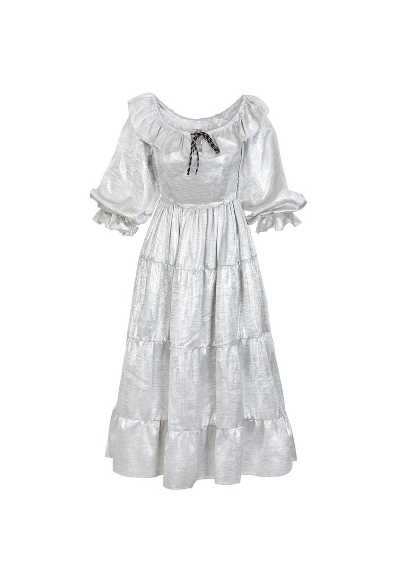 Sandrine Dress - Silver