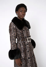 River Coat - Leopard