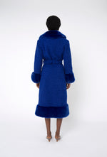 River Coat - Royal Blue