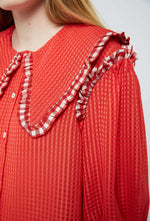 Aldrich Blouse - Red