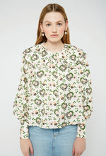 Amelia Blouse - Hearts