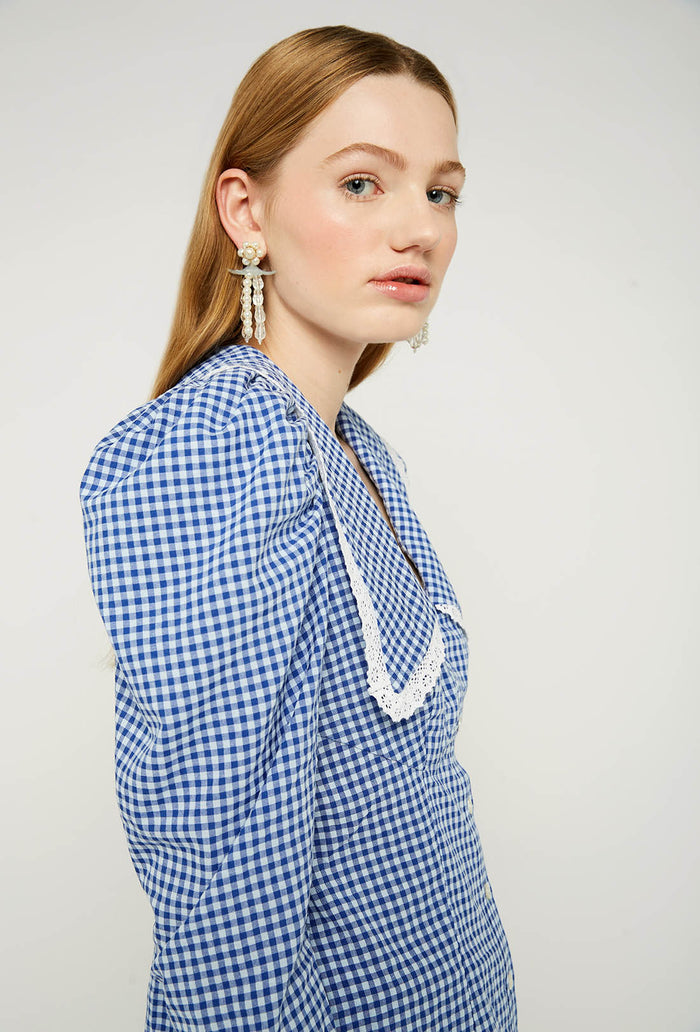 Elliot Blouse - Blue