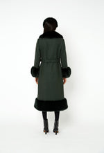 River Coat - Forest Green