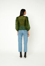 Cordelia Blouse - Forest Green