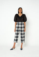 Houston Trousers - Black Check