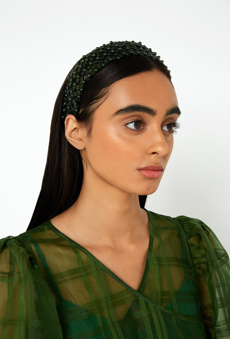 Diana Headband - Forest Green