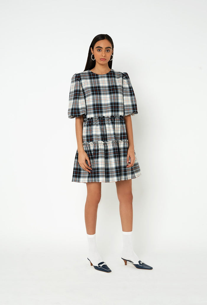 Smith Dress - Black Check