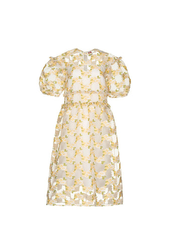 Theodore Dress - Yellow