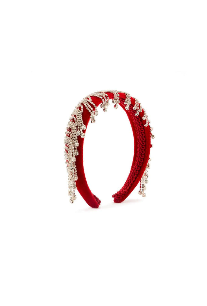 Abner Headband - Red