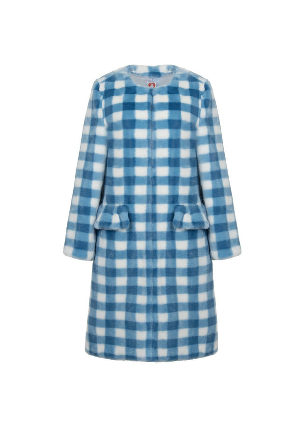 Aidan Coat - Blue