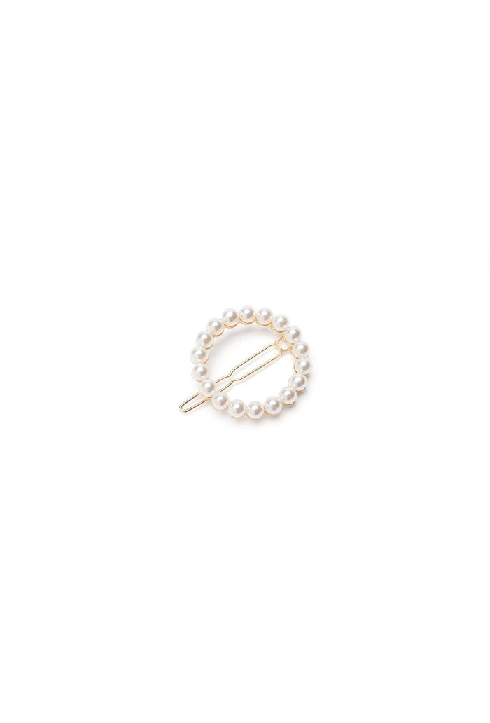 Albia Hair clip - Cream, shrimps