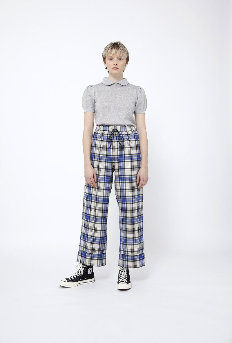 Alma Trousers - Navy