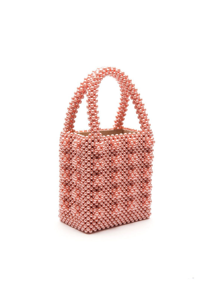 Antonia Bag - Dusty Pink, shrimps