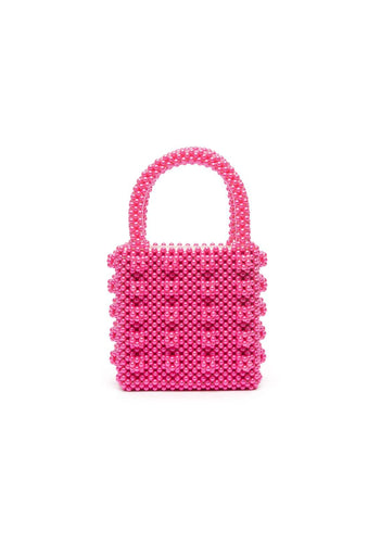 Antonia bag - Fuchsia, shrimps