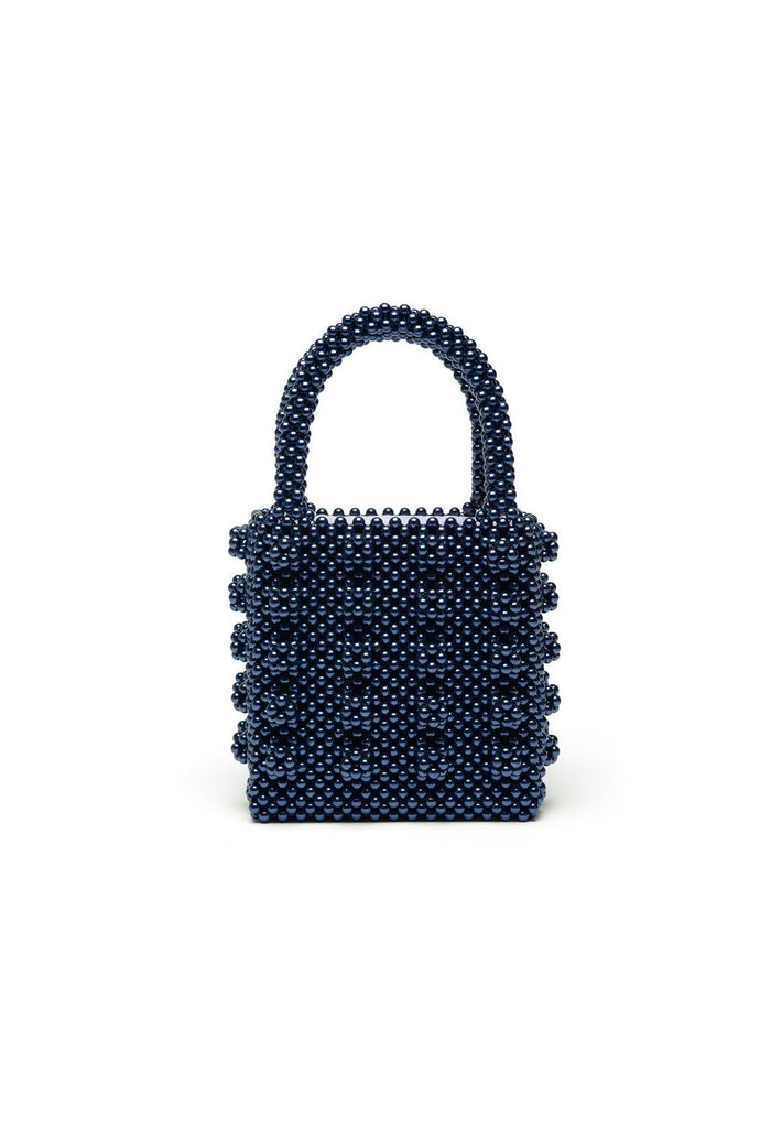 Antonia Bag - Navy, shrimps